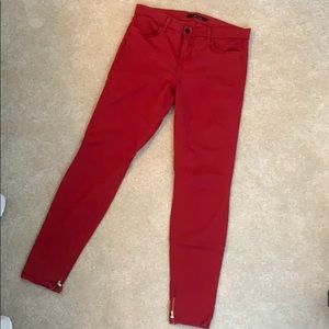 Make an offer! J brand red jeans size 29